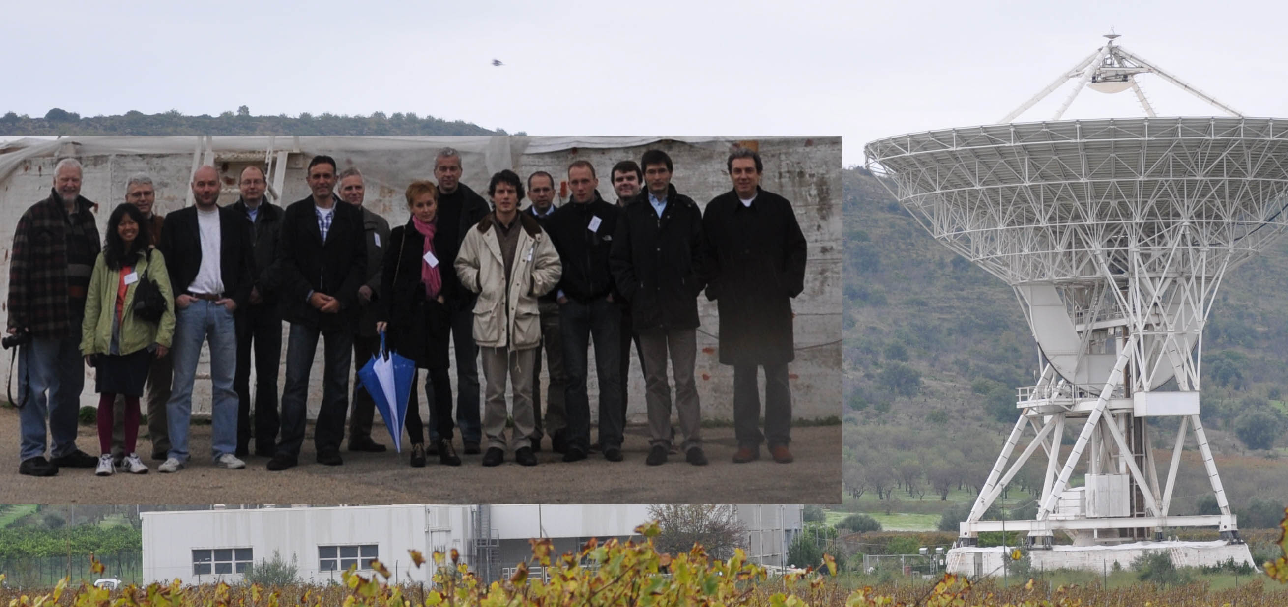 19th meeting of FM44 participants of FM44 visiting Noto radioastronomy observatory