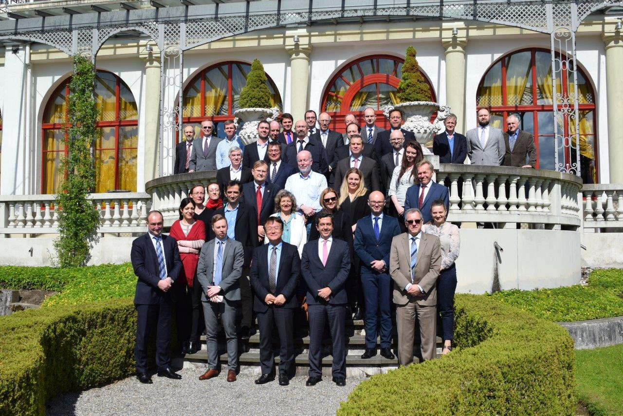 Com-ITU meeting in Lucerne, April 2016 Com-ITU met in Lucerne, 26-28 April 2016 with the participation of the Director of the ITU TSB